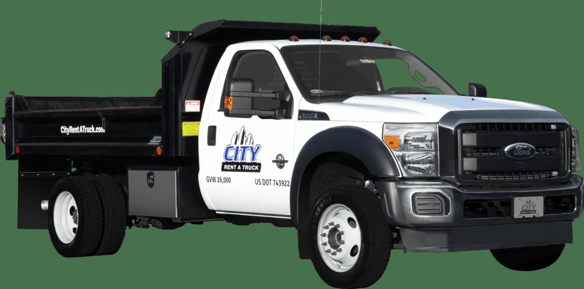 11-F550 Dump Truck