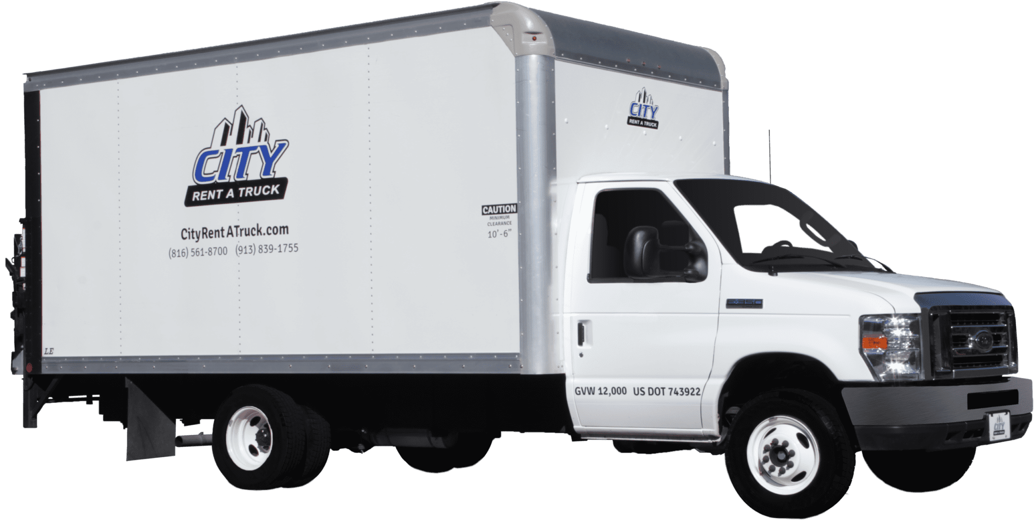 14-E350 Box Truck with Liftgate