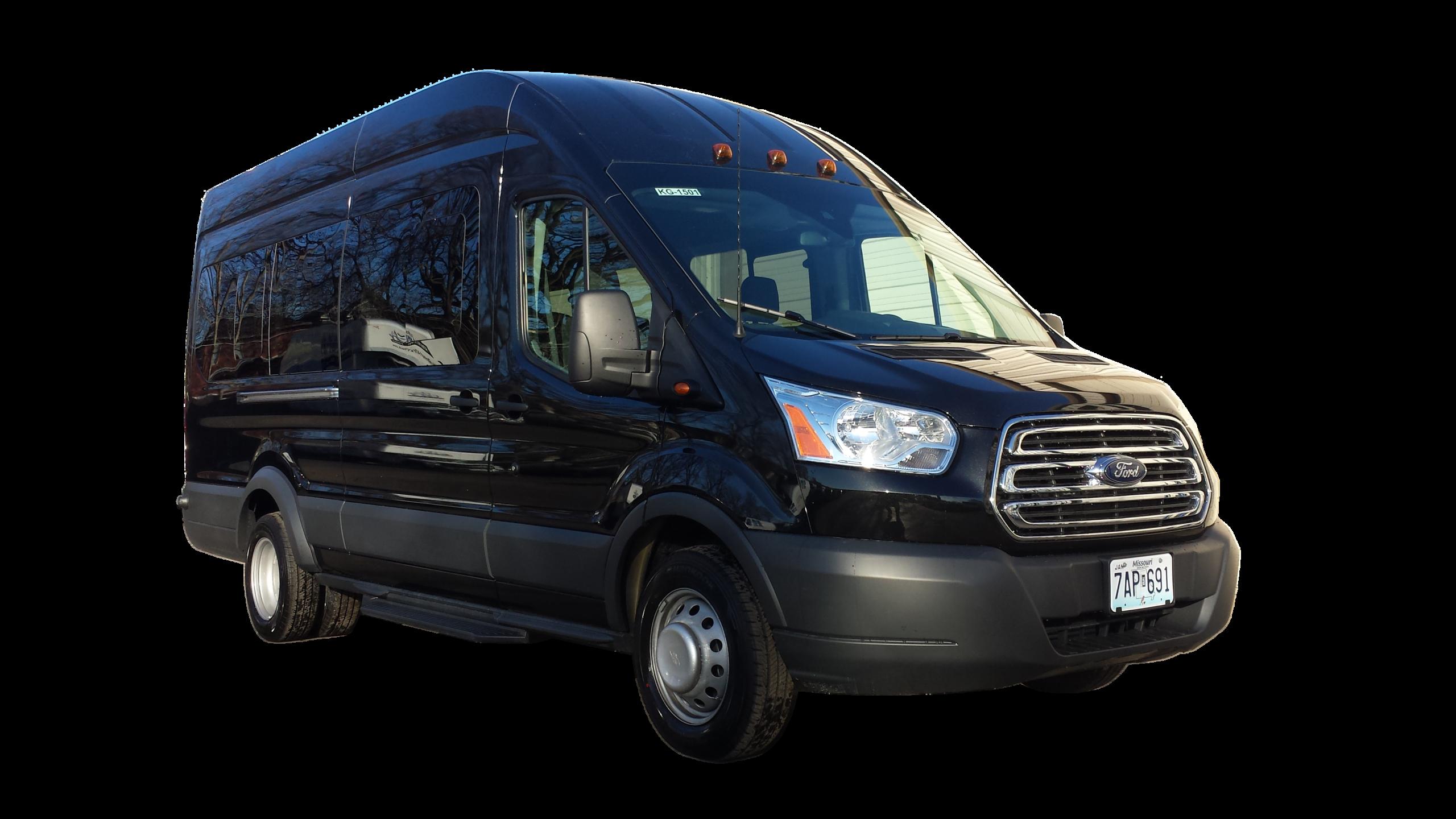 15 Passenger High Roof Transit Van