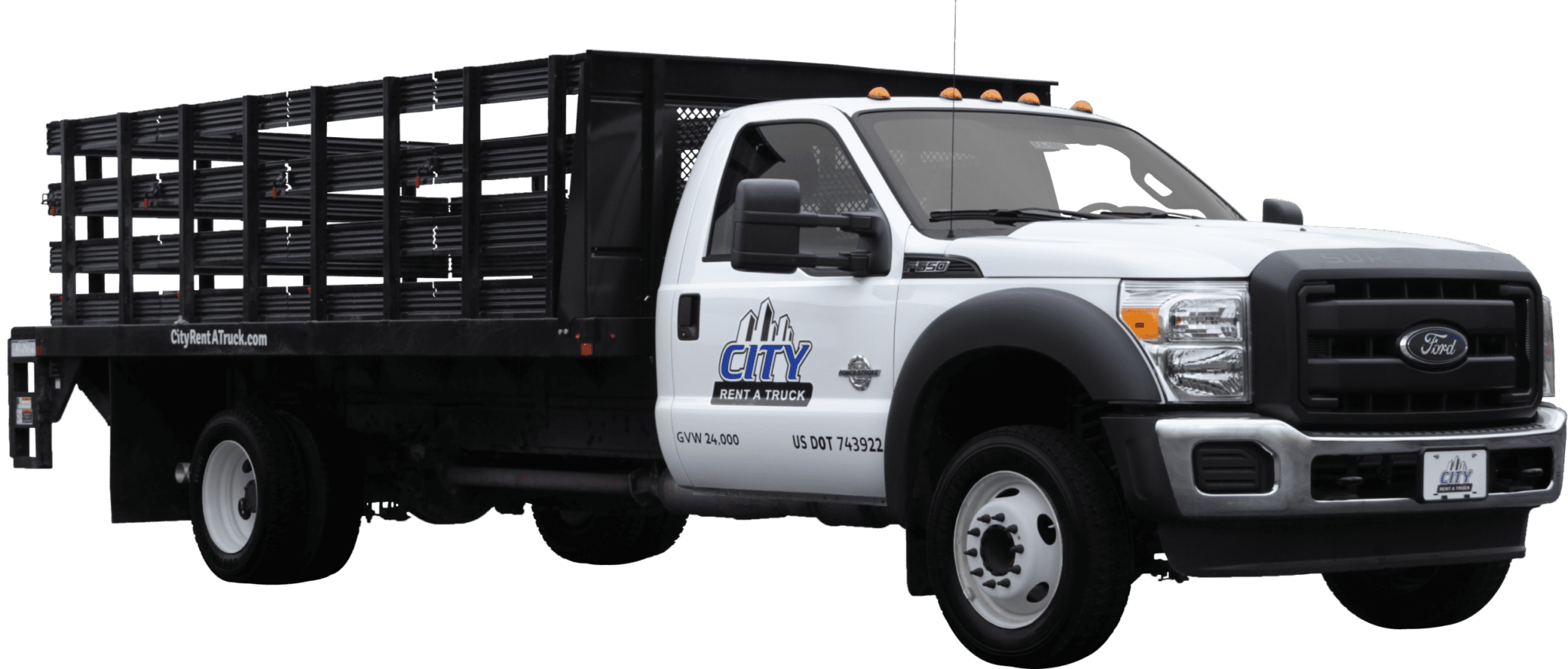 16-F550 Flatbed Truck