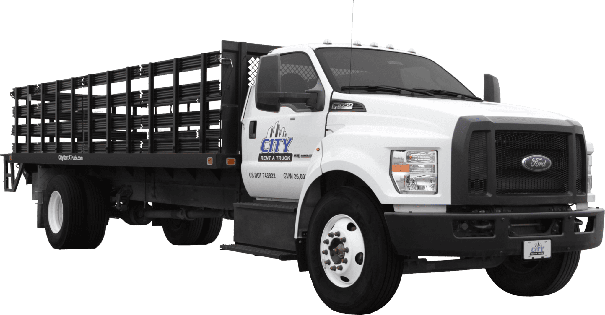 22-F650 Flatbed Truck