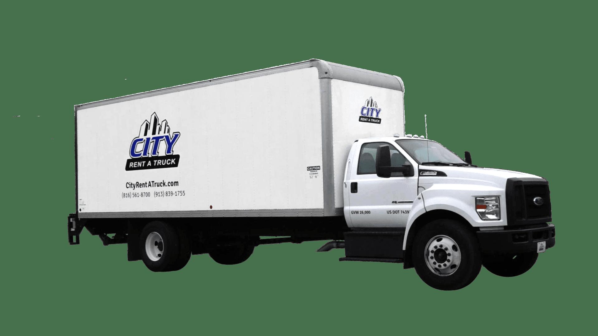 24-F650 Box Truck