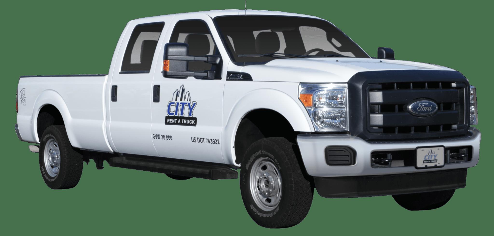 3-4 Ton Crew Cab Pickup