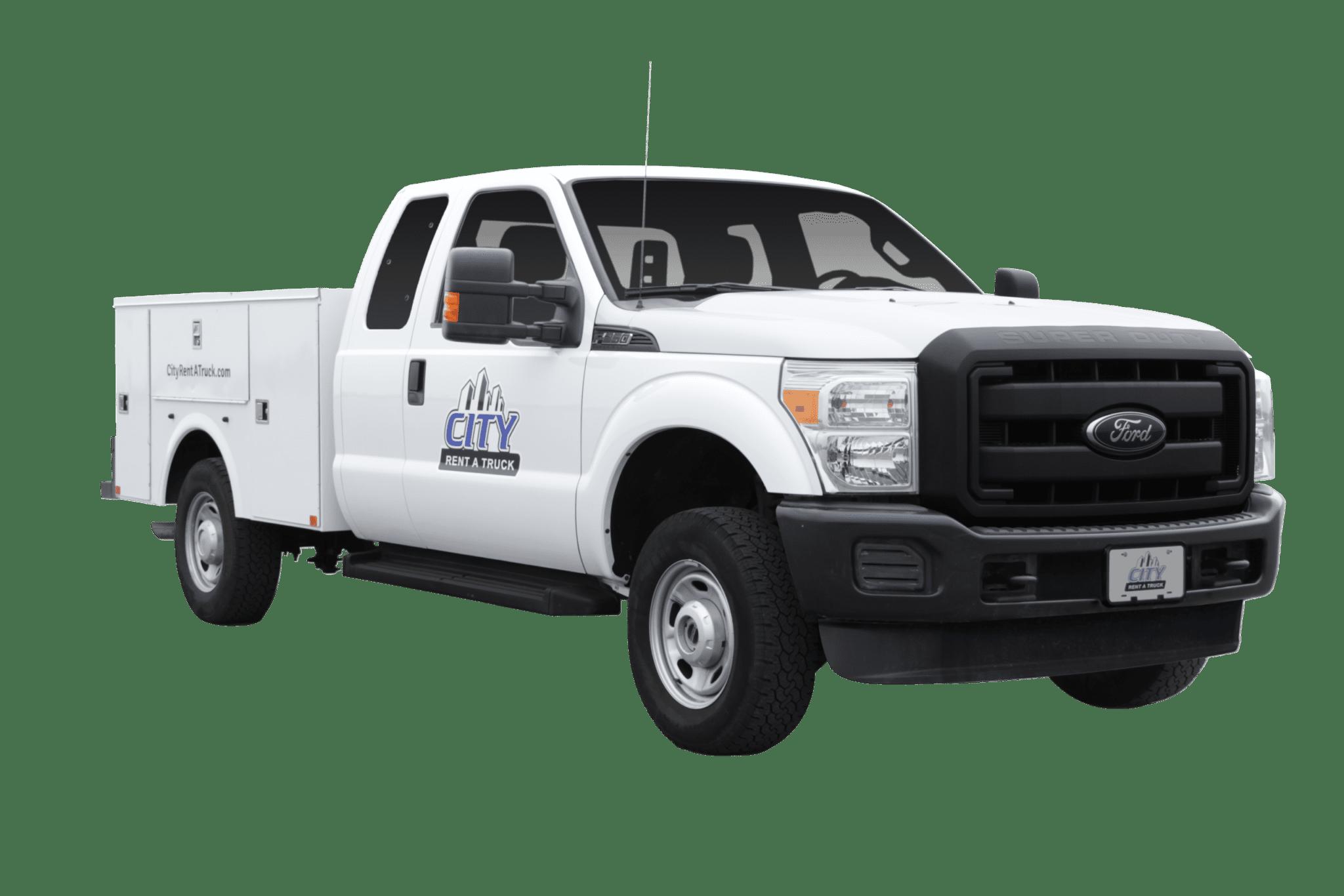 3-4 Ton Ext Cab Service Truck