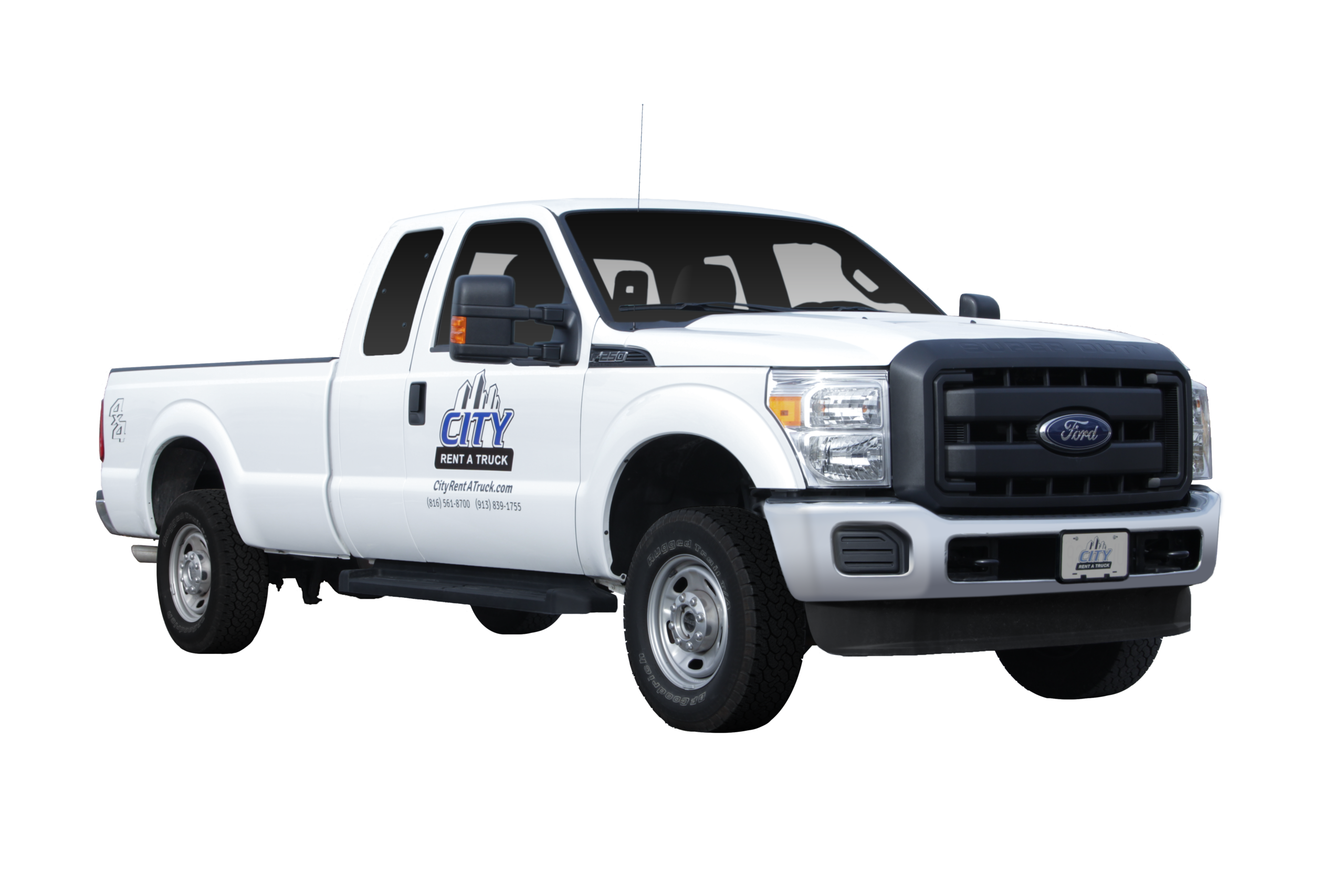 3-4 Ton Extended Cab Pickup