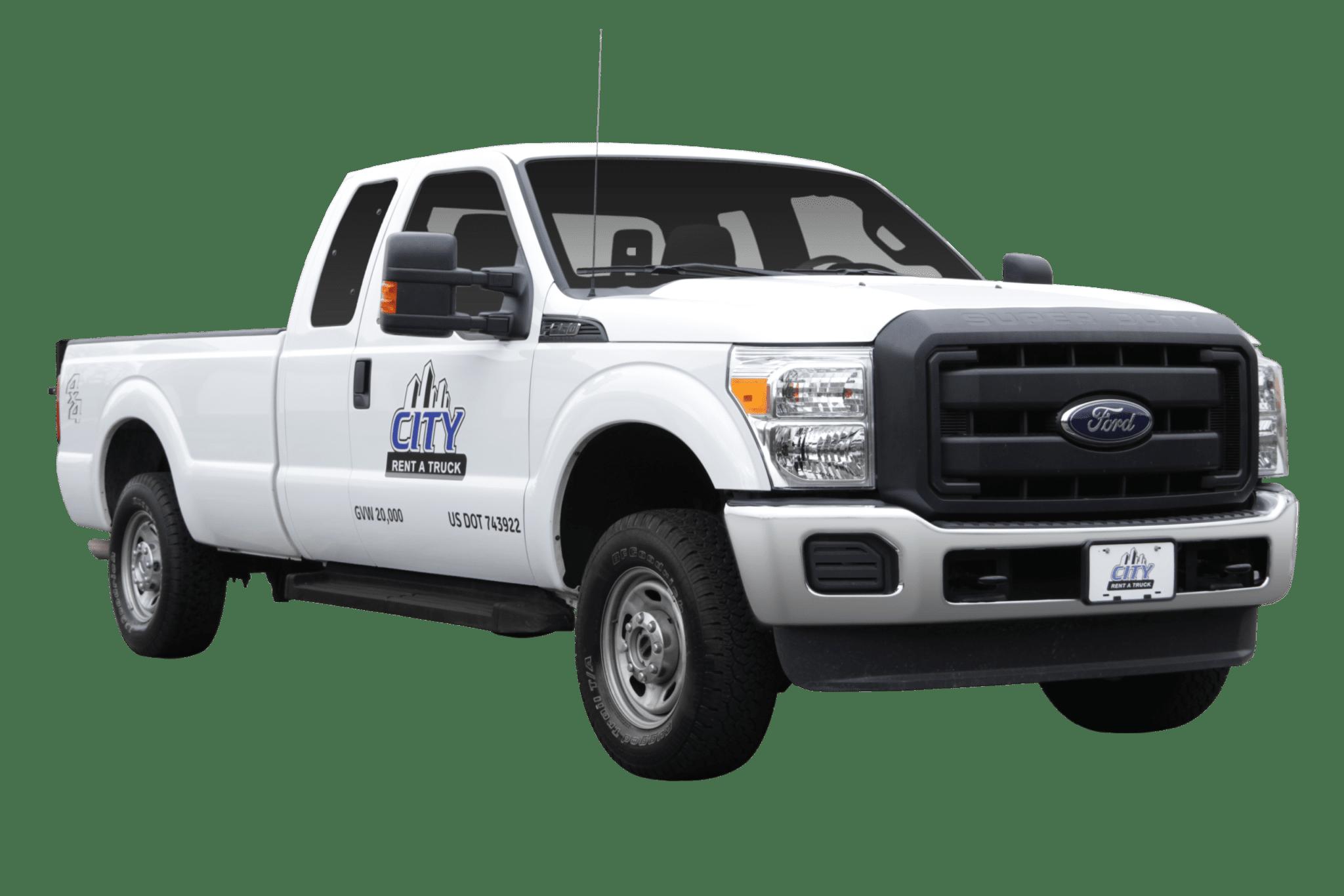 3-4 Ton Liftgate Pickup