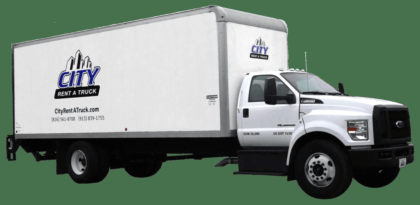 24 foot F650 Box Truck